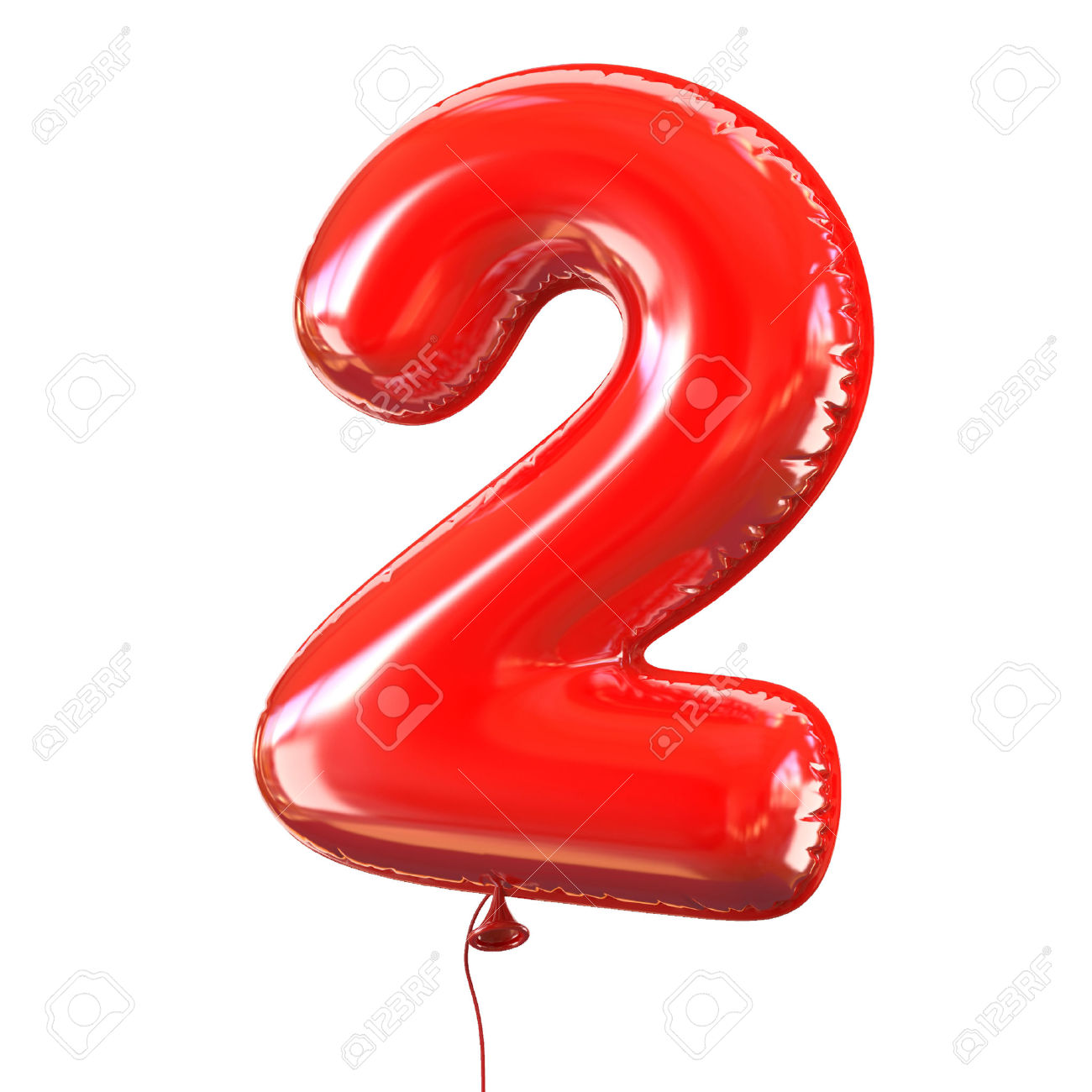 46401102 number five 2 balloon font stock photo
