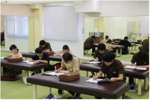 チャンピオンシップ選考には知識を確認する筆記試験があります